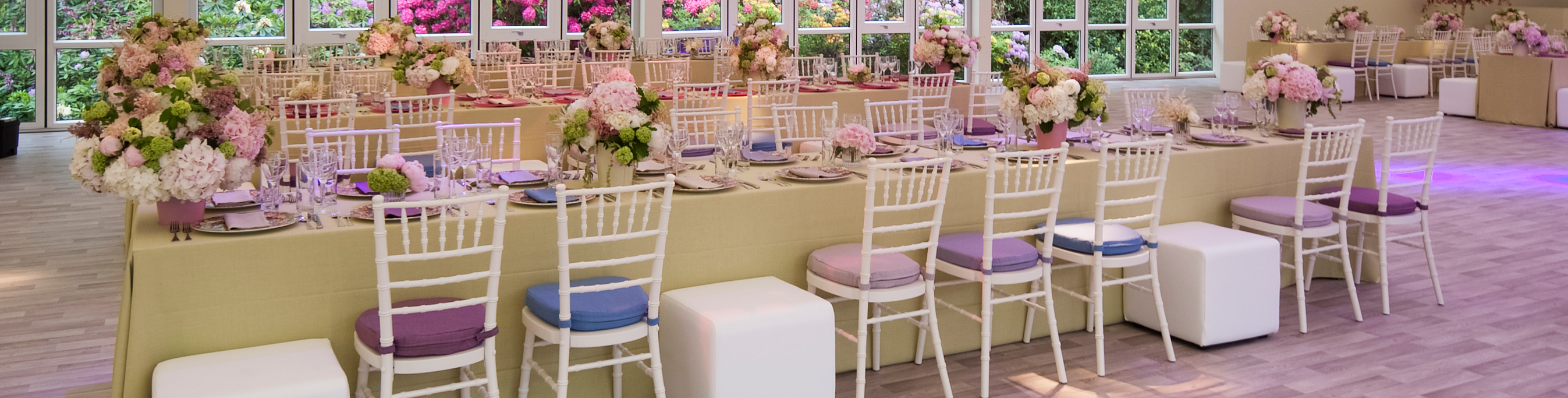 Hire everything you need to create stunning looking tables at your event